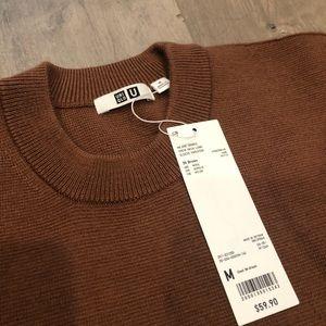 Uniqlo U Premium Milano Wool Ribbed Sweater